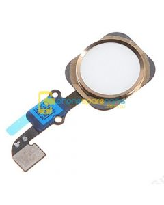 Apple iPhone 6 Home Button Flex Cable Assembly Gold