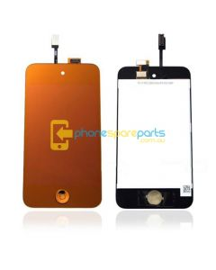 Apple iPod Touch 4th Gen LCD and touch screen assembly + Button Metallic Gold - AU Stock