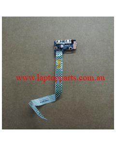 Samsung NP350E5C-A01AU USB Power Button Board BA59-03429A