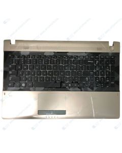 Samsung RV520 NP-RV520 Replacement Laptop Upper Case / Palmrest with Keyboard and Touchpad BA75-03169A