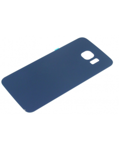 Samsung S6 Edge G925F G925I Battery Glass Back Cover Case Blue