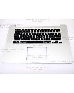 "Apple Macbook Pro 15 "" A1398 Retina ME294 ME293 2013 T Palmrest Top Case Cover + Keyboard 613-1325-08  NEW"