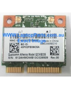 Toshiba Satellite P50t-A PSPMHA-0DP04S Replacement Laptop Wireless Card Wifi Card QCWB335 AS NEW