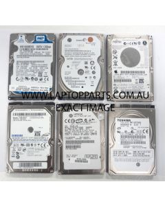 "Laptop Hard Disk Drive 250 GB SATA 2.5"" USED"