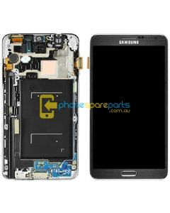 Galaxy Note 3 N9005 LCD and Digitizer assembly with frame Black - AU Stock
