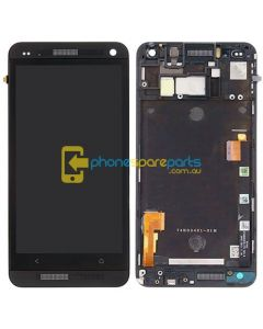 HTC One M7 LCD Frame Black ** FRAME ONLY WITHOUT LCD **  - AU Stock