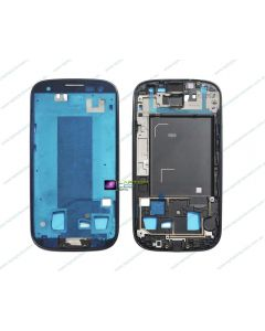 Samsung Galaxy S3 i9305 Replacement Middle Housing Chassis Frame Silver Bezel - White