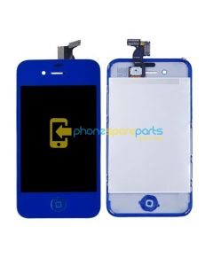 iPhone 4 LCD and touch screen assembly + button + back cover [PINK]