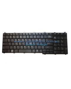 Toshiba Satellite Pro L670 (PSK3FA-01U01H)  KEYBOARD USAustralia CHICONY BLACK K000097460