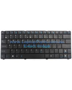 Asus EEE PC 1101HA Replacement Laptop BLACK Keyboard K081284B1US002 V090262CS1 0KNA-1J1UI01 - NEW