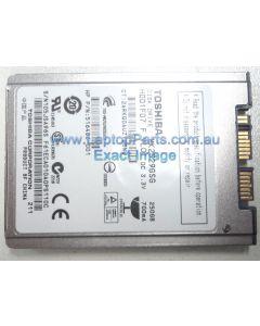 """Toshiba MK2529GSG 1.8"""" SATA Hard Disk Drive"""