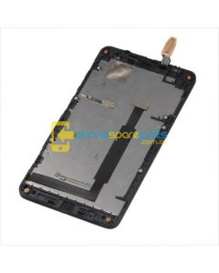 Nokia Lumia 625 LCD and touch screen assembly with frame Black - AU Stock