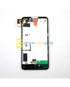 Nokia Lumia 630 LCD and Touch Screen Assembly with Frame Black - AU Stock