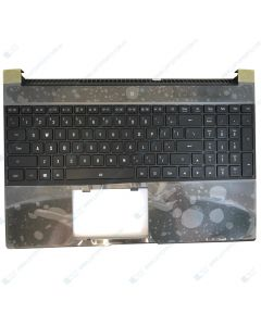 Gigabyte Aero 15 Replacement Laptop Upper Case / Palmrest with Keyboard P65WV8