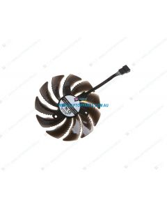 MSI RX580 Replacement Graphics Card Cooling Fan PLD09210S12HH (1 Fan only)