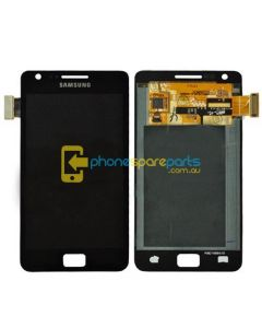Samsung Galaxy S2 i9100 screen display assembly Black without frame