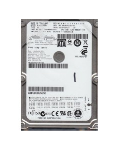 HP Pavilion G6-1205AX 250GB SATA HDD Hard Disck Drive 489819-001 USED