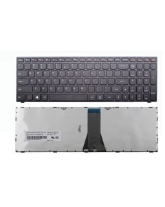 Lenovo Yoga 2 Pro Laptop 59441699 US Keyboard T6G1 DF Black Keys Silver Frame KBD 25215280