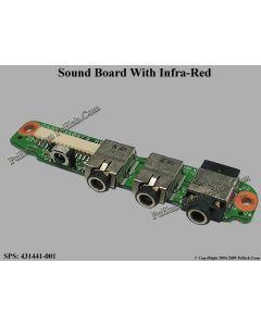 HP Pavilion DV6000 Series Sound Board