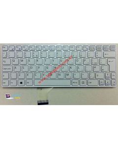 Sony Vaio SVE11126CGW Replacement Laptop Keyboard (white) S149101611