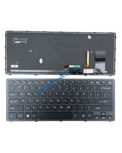 Sony SVF14N18SCB Replacement Laptop US English Backlit Keyboard 149264921US