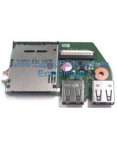 Toshiba Satellite Pro L650 (PSK1FA-00V00N)  CARD READER / USB BOARD V000211010