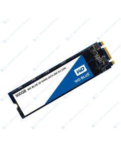 Western Digital (WD Blue) Replacement Laptop 500GB M.2 2280 SATA (SSD) Solid State Drive WDS500G2B0B