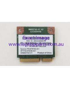 HP ENVY TouchSmart 15-j173cl AR5B125 WLAN 802.11BGN HMC 1x1 675794-001 670038-001