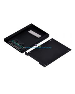 Micro SATA 1.8 inch HDD Hard Drive SSD Convertor Enclosure Adapter New